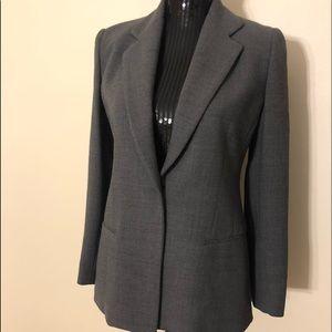 Donna Karan Signature wool blend blazer